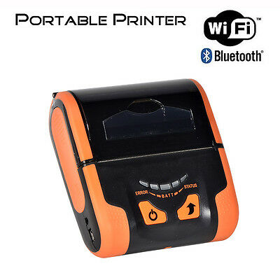 EOP300 80mm Portable Thermal Receipt Printer with Wifi & Bluetooth