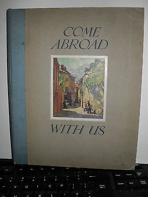 Come Abroad with Us - published by the Southern Railway of England - illustrated