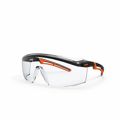 Uvex 9164185- AstroSpec 2.0 Safety Spectacle / Glasses - Clear Lens
