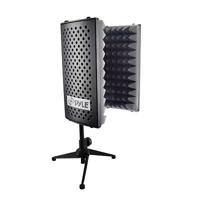 PSMRS08 Compact Microphone Isolation Shield Studio Mic Sound Dampening Reflector