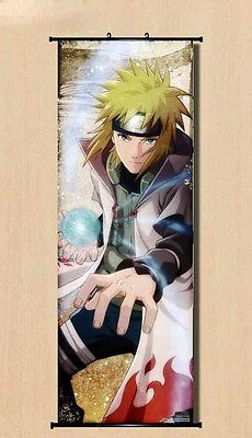 Sanndaime Minato Home Decal Japanese Anime Poster Wall Scroll Naruto