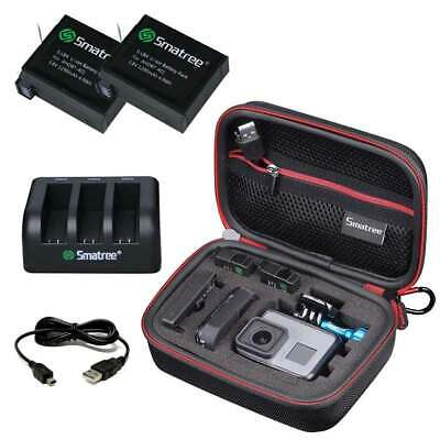 Smatree Carry Case and Battery Kits for GoPro Hero 3+ Hero 3 Camera Accessories