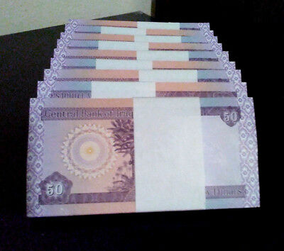 Iraq Dinar 1000  Set Of 20 X 50 Dinar Notes  New  Unc.