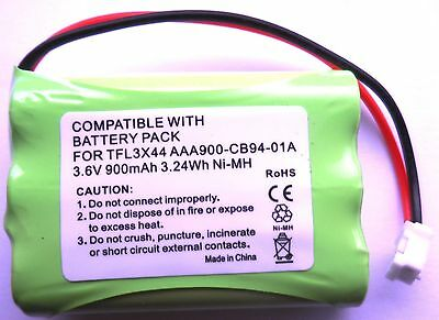 Rechargeable Battery 3.6V Compatible With Motorola Mbp43 Mbp43S Baby Monitor