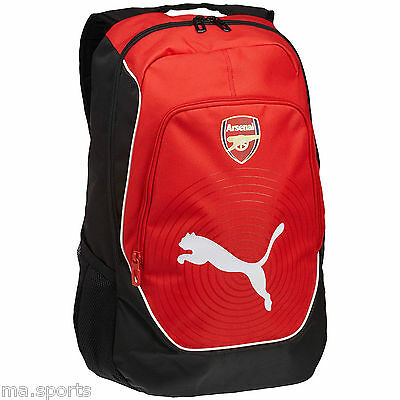 New Puma Arsenal Sports Football Casual School College Gym Accessories Backpack
