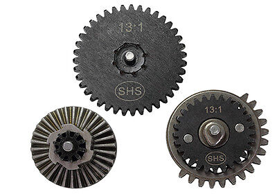 SHS 13:1 High Speed Ultra Strong Gear Set for Ver. 2 / 3 AEG Airsoft Gearbox