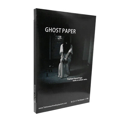 Ghost Paper Tattoo Transfer Spirit Stencil Carbon Thermal Tracing Hectograph