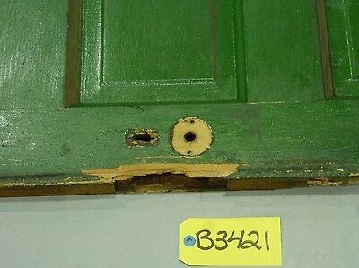 Antique Wood Door-2 Tone Green