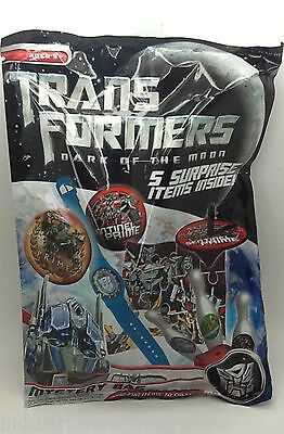 Transformers Dark of the Moon Mystery Gift Bag 5 Surprise Items Kids Party Bag