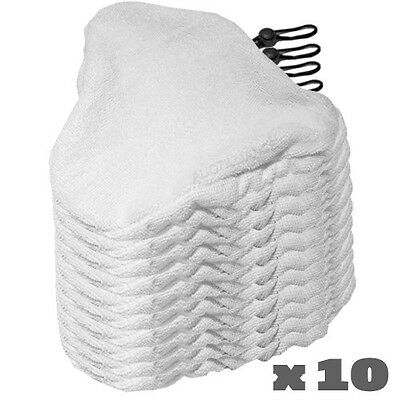 10 H2O Steam Mop Pads Replacement Microfiber Cleaner Bissell Steamboy