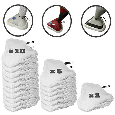 Choose Quantity H2O STEAM MOP, STEAMBOY & BISSELL PADS Microfiber Pad USA