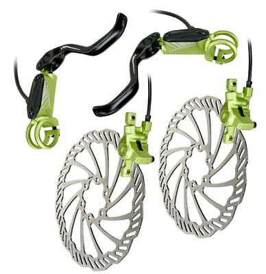 Cannondale Helix 6  Mountain Bike Bicycle Hydraulic Disc Brakes Set Green