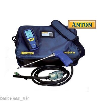 Anton Sprint eVo 2 Gas Analyser with Holdall brand new with certificate