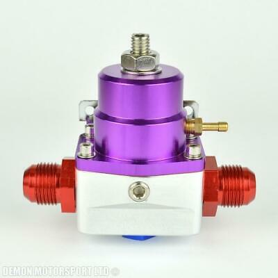 AN10 (AN -10) FPR Fuel Pressure Regulator Purple With 10AN Fittings 100 Psi 1:1