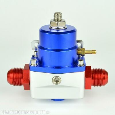 AN10 (AN -10) FPR Fuel Pressure Regulator Blue With 10AN Fittings 100 Psi 1:1
