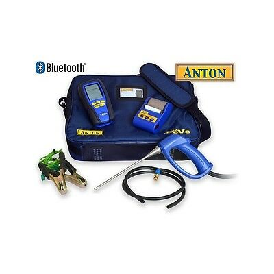 Anton Sprint eVo 3 Kit 1 Bluetooth Gas Analyser with certificate and printer