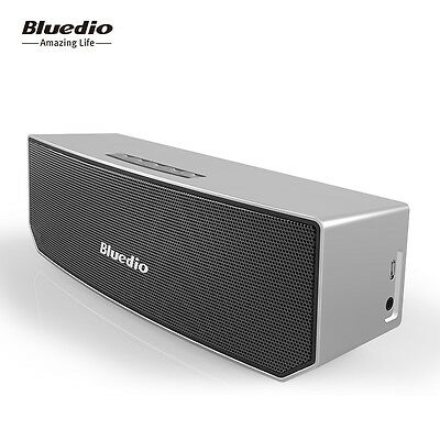 BLUEDIO BS-3 Wireless Bluetooth Speakers Stereo V4.1 Portable Soundbar Woofer 3D