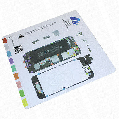 Apple iPhone 5 Magnetic Easy Manage Project Mat / Screw Management Diagram