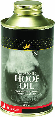 Lincoln Classic Hoof Oil 500ml - Original  - Horse Pony Care