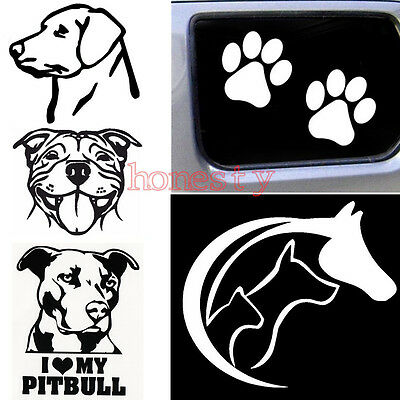 Funny Dog Vinyl Decal Sticker Car Truck Window Bumper Wall Macbook Art Decor
