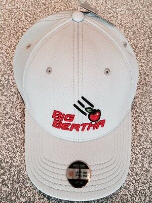 CALLAWAY GOLF BIG BERTHA  ADJUSTABLE TOUR CAP  Colour GREY NEW