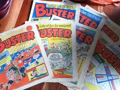 BUSTER x 9  Sept to December 1983