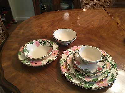 Franciscan Desert Rose China Set
