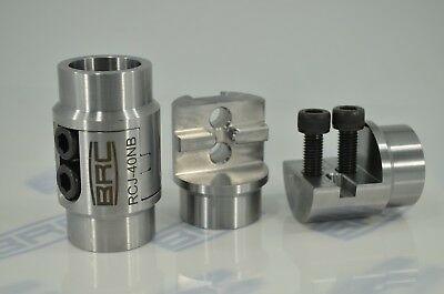 2 x 40NB PIPE Roll cage Joiner Weld On Tube Coupling for Mild Steel