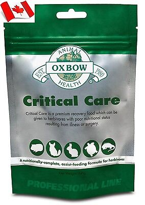 Oxbow Animal Health Critical Care Original Anise 141 gram Canadian Shipping