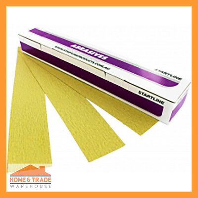 Sanding Abrasive Speedfile Topaz 80 Grit 70mm x 450mm Plain Box of 50 Automotive