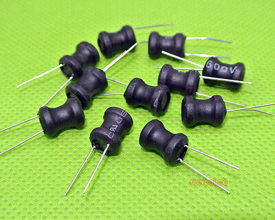 10pcs 1mH Inductor choke Radial Lead Power Inductor 8x10