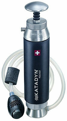 Katadyn Pocket Water Filter - The Classic Expedition, Trek, Hiking Purifier
