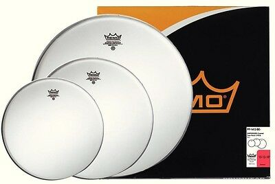 "Remo Emperor Coated Pro Pack | 10"" 12"" 16"" 