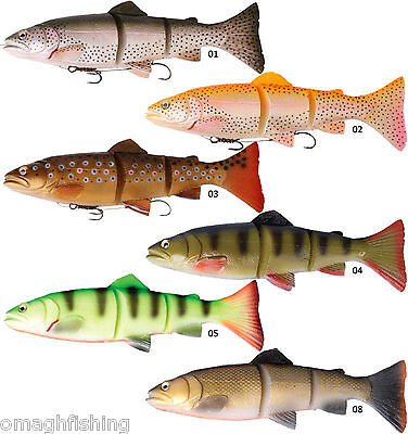 Savage Gear 3D Trout Line Thru Swim Bait*3 Sizes/Weights*6 COLOURS*Pike Lure