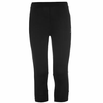 Karrimor Kids Run Capri Tights Girls Breathable Running Jogging Sport New