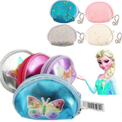 Girl's Fancy Coin Money Purse Butterfly Glitter Party Bag Filler Gift Kid's Loot