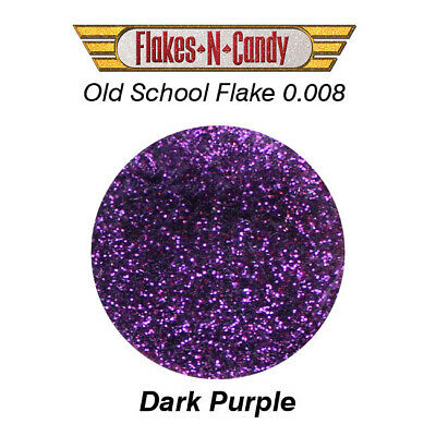 Metal Flake Glitter (0.008) Custom Metal Flakes 30G Dark Purple