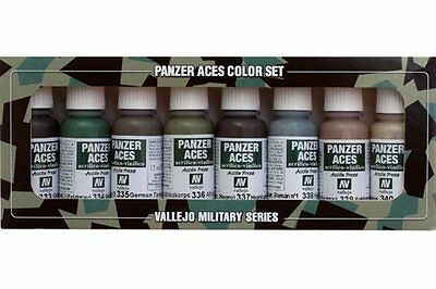 VALLEJO 70.128 Panzer aces color set n°5 8x17ml
