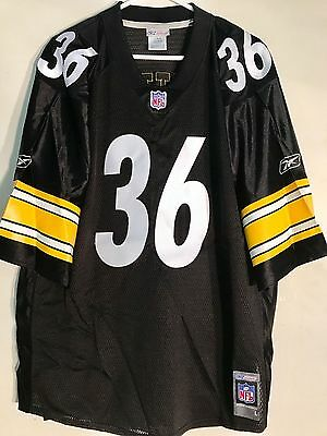 NFL Pittsburgh Steelers Jerome Bettis American Football Premier Shirt Jersey