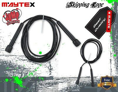 Crossfit Boxing Speed Cardio Gym Excercise Fitness Skipping Jump Rope 3mtr