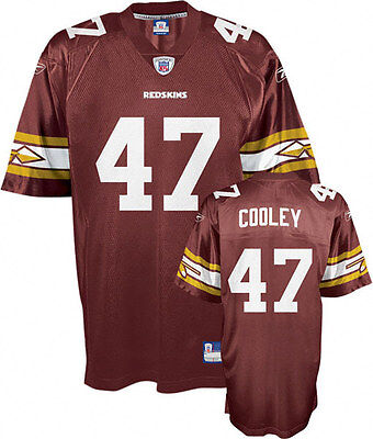 NFL Washington Redskins Chris Cooley Throwback American Football Shirt Jersey