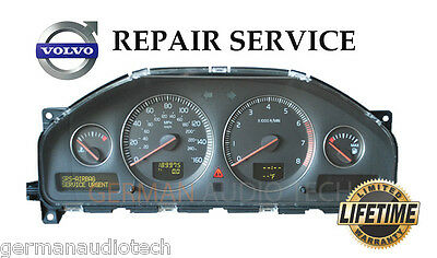 REPAIR SERVICE for VOLVO DRIVER INFORMATION MODULE DIM DASH INSTRUMENT CLUSTER