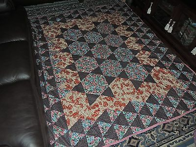 Quilt; made by myself, King size