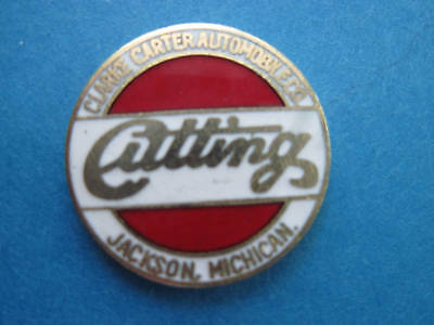 CUTTING - CLARKE CARTER  AUTOMOBILE CO. - hat pin  GIFT BOXED