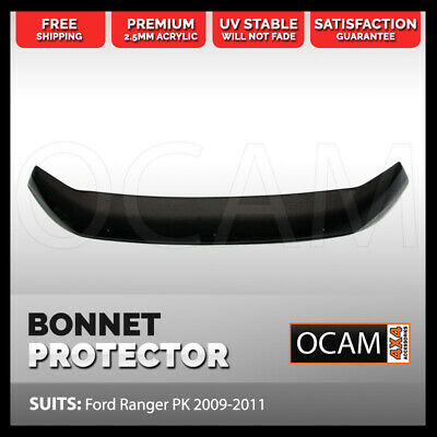 Bonnet Protector for Ford Ranger PK 2009-2011 Tinted Guard