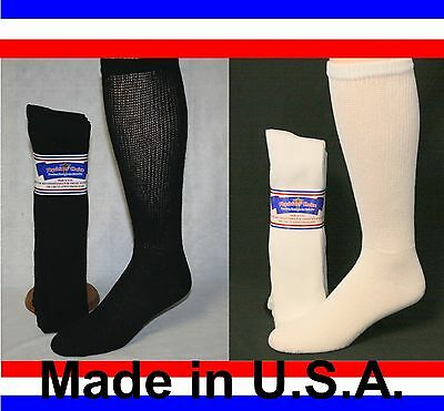 Men's Women 3 Pair Over the Calf Cushioned Diabetic Socks 35% OFF 2nd Package