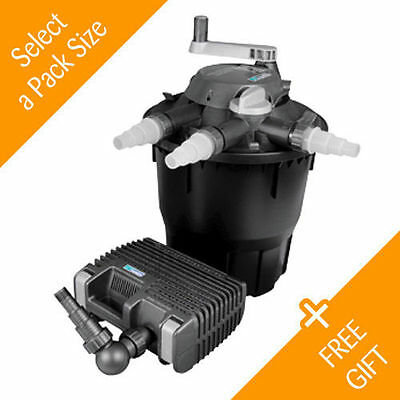 Hozelock Bioforce Revolution - (Pond Filter & Pond Pump Kit) - FREE Gift & P&P!