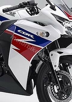 Honda CBR125R Front RIGHT Fairing Cowl Cover WHITE & Decal 2012 2013 2014 2015