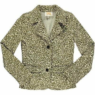 S&D Le Chic girls animal print jacket age 4/5 years