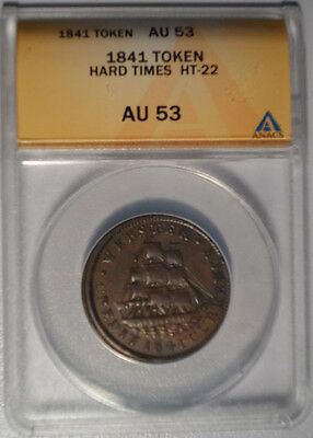 1841 Token Hard Times HT-22